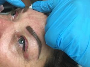 Eyebrow Procedure and Eyeliner