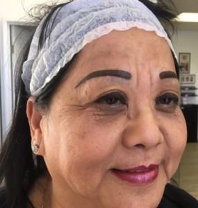 Permanent Makeup Procedure