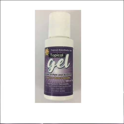 Topical Gel Anesthetic