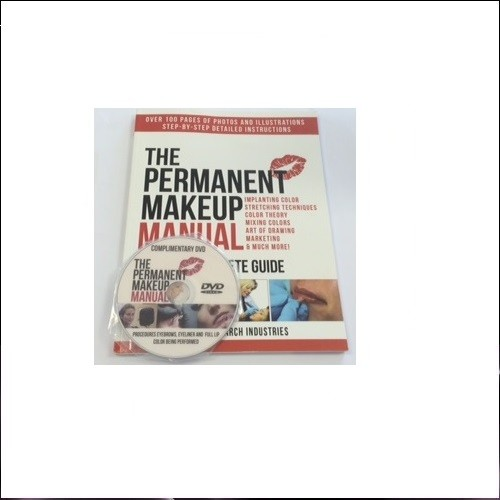 Permanent Makeup Book &DVD