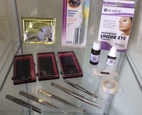 Eyelash Extension Products and Training